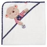 babyFEHN Hooded bath Towel Teddy