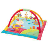 babyFEHN 3-D Activity Quilt Hare