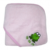 MMK Bamboo Hooded Towel (Pink)
