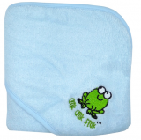 MMK Bamboo Hooded Towel (Blue)