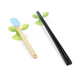 Set of 2pcs, Silicone Utensil Rest