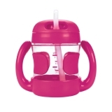 Oxo Tot Straw Cup w/handle Pink (7oz)