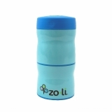 Zoli Double Tier Food Jar Blue 240ml