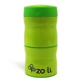 Zoli Double Tier Food Jar Green 240ml