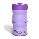 Zoli Double Tier Food Jar Purple 240ml