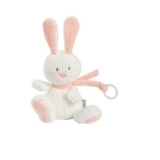BF Small Hare with Pacifier Salmon Pink