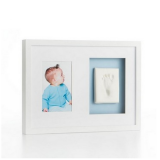Pearhead Wall Frame Double White