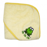 MMK Bamboo Hooded Towel (Yellow)